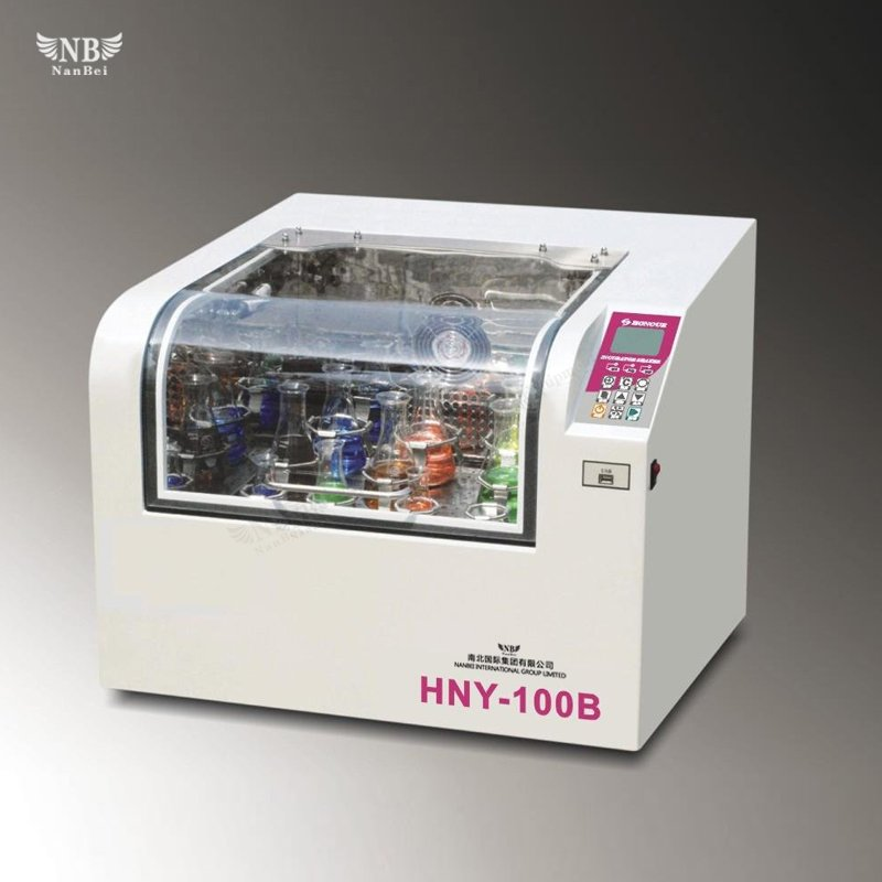 Desktop shaking incubator