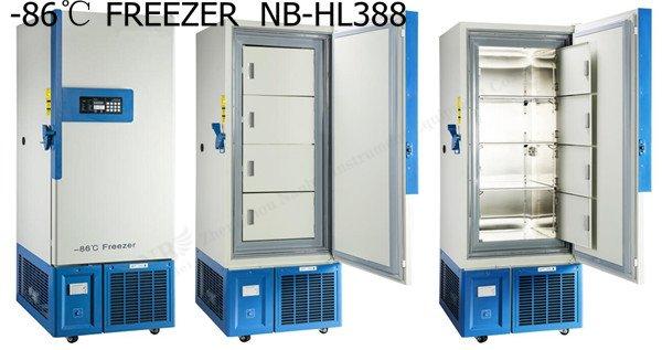 388l 86℃ Ultra Low Temperature Freezer Low Temperature