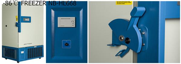 668l 86℃ Ultra Low Temperature Freezer Low Temperature