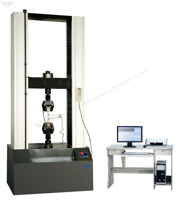 WDW microcomputer controlled electronic universal testing machine (high configuration)